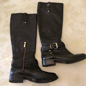 Vince Camuto Boots Size 6 Leather Tall Riding